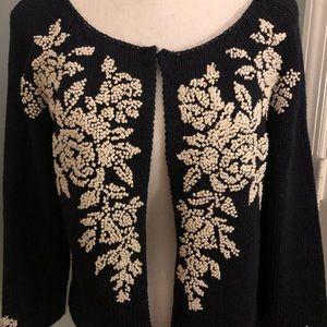 Exquisite Embroidered cardigan